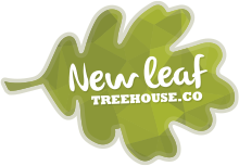 New Leaf Tree House Co Logo